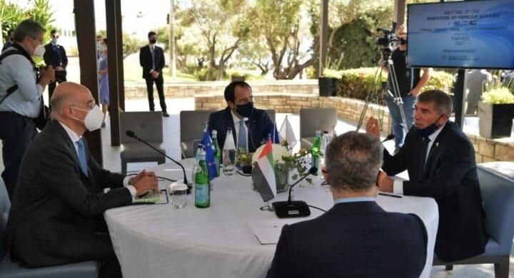 Vertice fra Grecia, Emirati, Israele e Cipro. Convitato di pietra è la Turchia