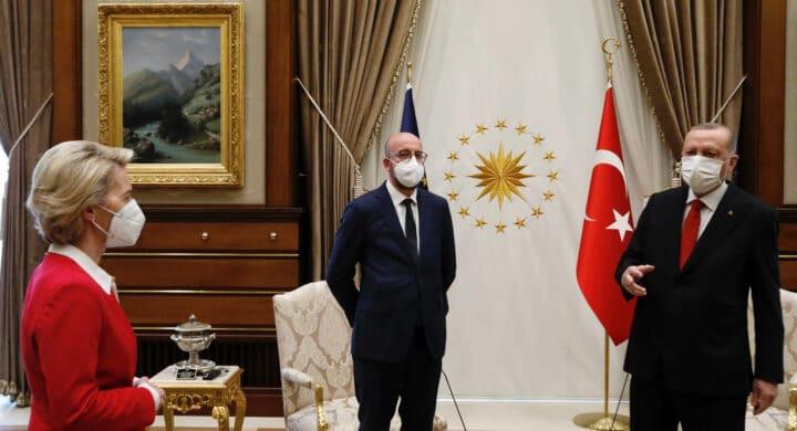 Il SofaGate dimostra che per Erdogan non c'è posto in Europa. Scrive Gancia  (Lega) - Formiche.net