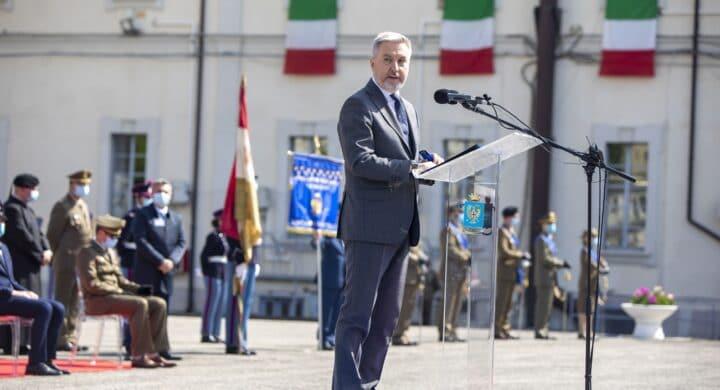 L'industria della Difesa per l'ambizione dell'Italia. Il messaggio di Guerini