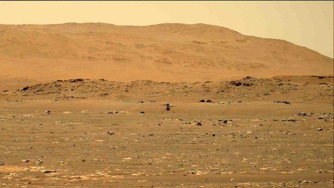 Ingenuity ha fatto la storia. Ecco il primo volo su Marte