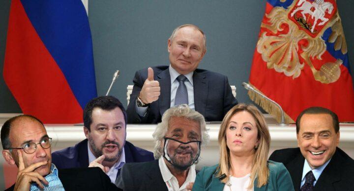 L'Italia e i partiti, tutti pazzi per Putin. Panebianco spiega perché
