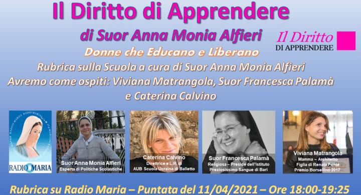 A Radio Maria/Donne che Educano e Liberano