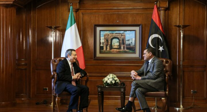 Draghi in Libya spearheads support and reconstruction plans