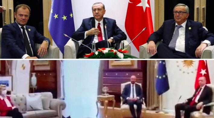 Von der Leyen confinata sul divano da Erdogan. La lettura (poco) diplomatica