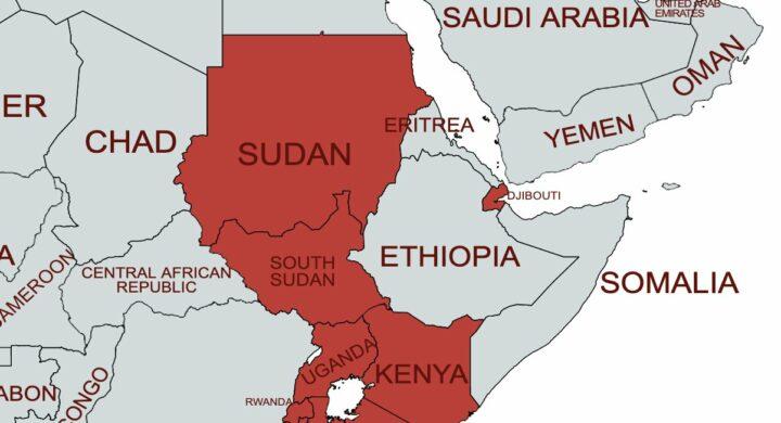 Cartina Africa Egitto.Cosi L Egitto Si Rafforza Lungo Il Corso Del Nilo Formiche Net