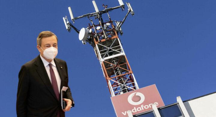 5G, Draghi stoppa (di nuovo) la Cina. Il Dpcm su Vodafone