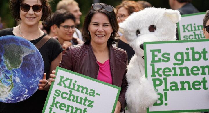 Così la verde Baerbock si presenta come migliore alleata Usa in Germania