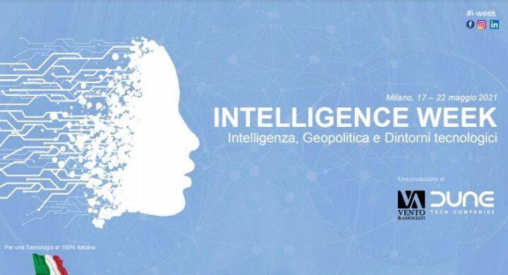 I-Week, una settimana di eventi su intelligence, geopolitica e dintorni tecnologici