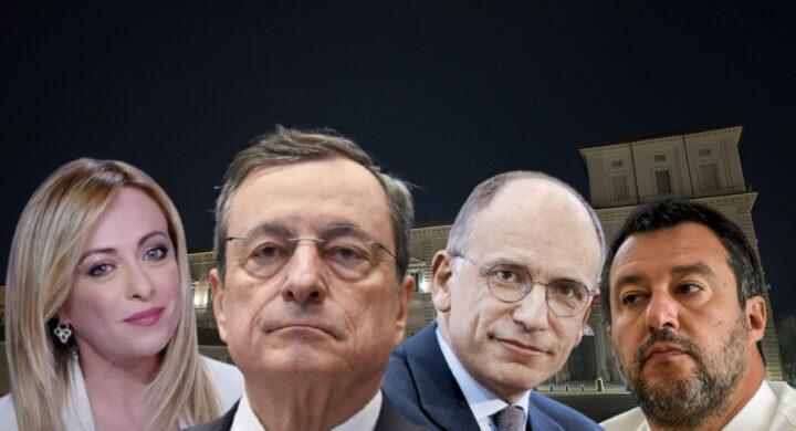 Draghi, Letta e la grande imboscata. Il commento di Pasquino