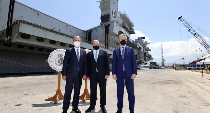 Dalla Cavour alla Queen Elizabeth. In Sicilia va in scena il trilaterale difesa UK-Italia-Turchia