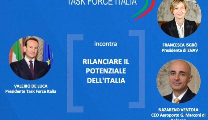 Task Force Italia, Web Talk con Francesca Isgrò e Nazareno Ventola