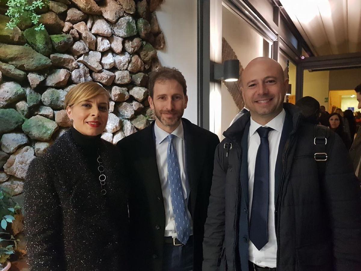 Rosalba De Giorgi, Davide Casaleggio (2018)