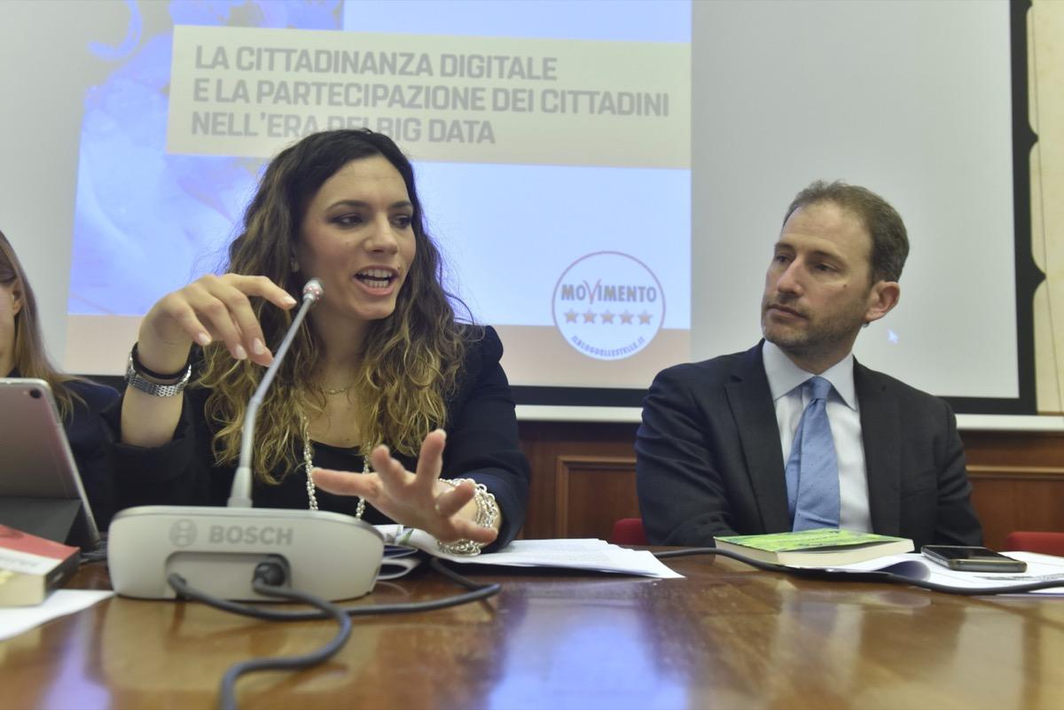 Vittoria Baldino, Davide Casaleggio