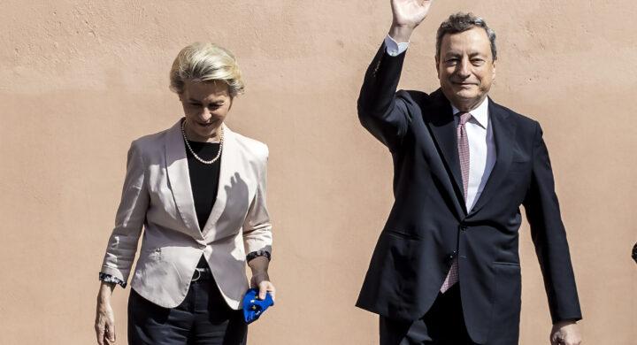 L'Italia ha il suo Pnrr. Draghi brinda con Ursula, ma ora niente errori