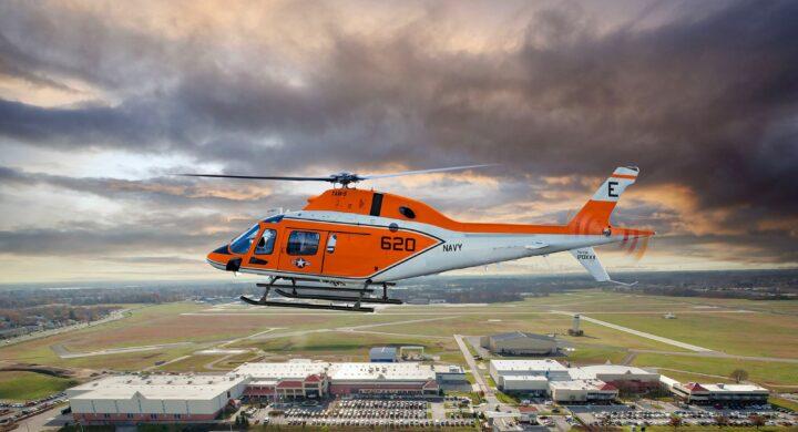 Leonardo negli Stati Uniti. Consegnato il primo elicottero alla US Navy