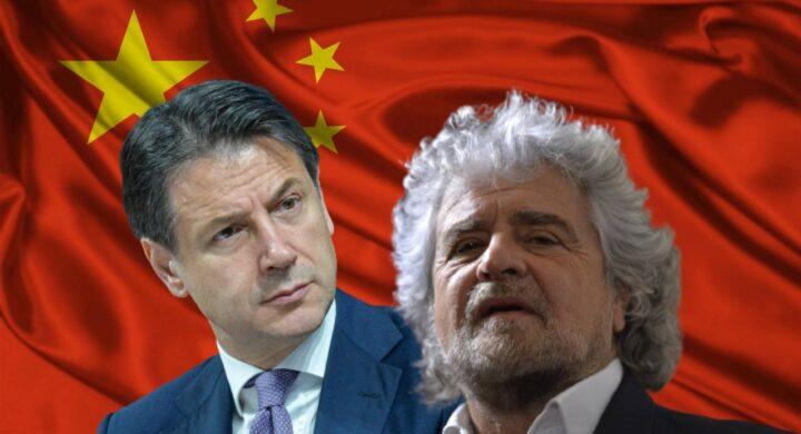 Conte e Grillo, passione cinese. Schiaffo a Draghi (e Biden)