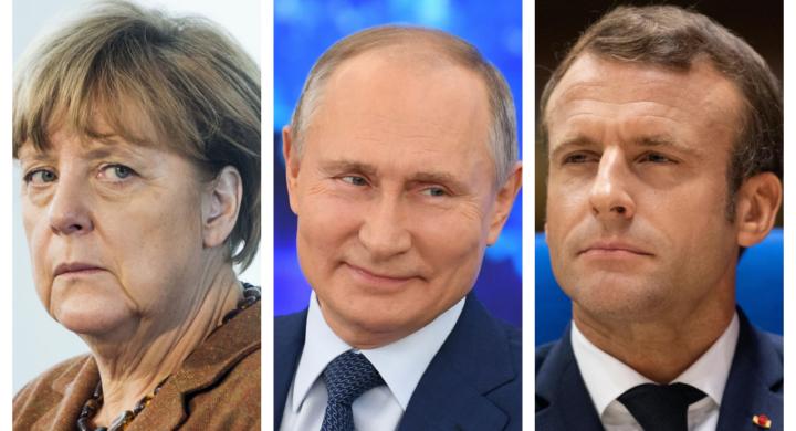 Sorpresa! Se Merkel e Macron vogliono Putin a Bruxelles