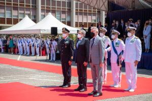 Nicola Carlone, nuovo comandante dalla Guardia Costiera. Le foto della cerimonia