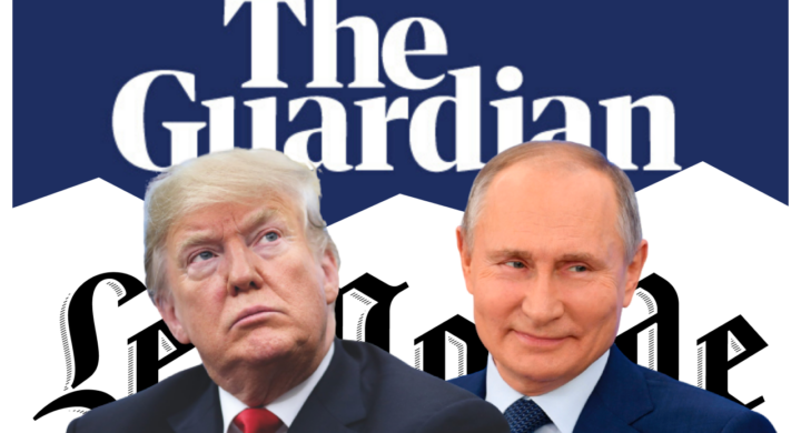 Trump marionetta di Putin? Fake news. Così Le Monde accusa il Guardian