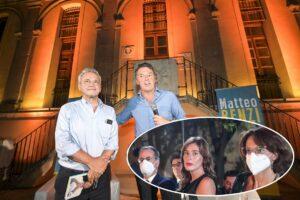 "Matteo Renzi ed Enrico Mentana insieme ""Controcorrente"". Le foto"