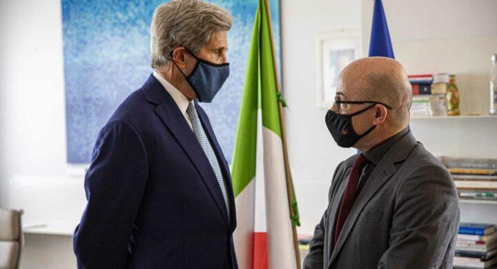 Italia-Usa, patto tra Cingolani e Kerry per il G20 Ambiente
