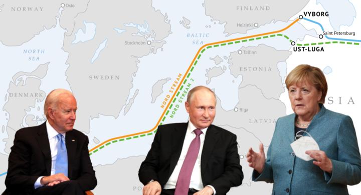 Biden e Merkel trovano l'accordo sul Nord Stream 2 ma non tutti festeggiano