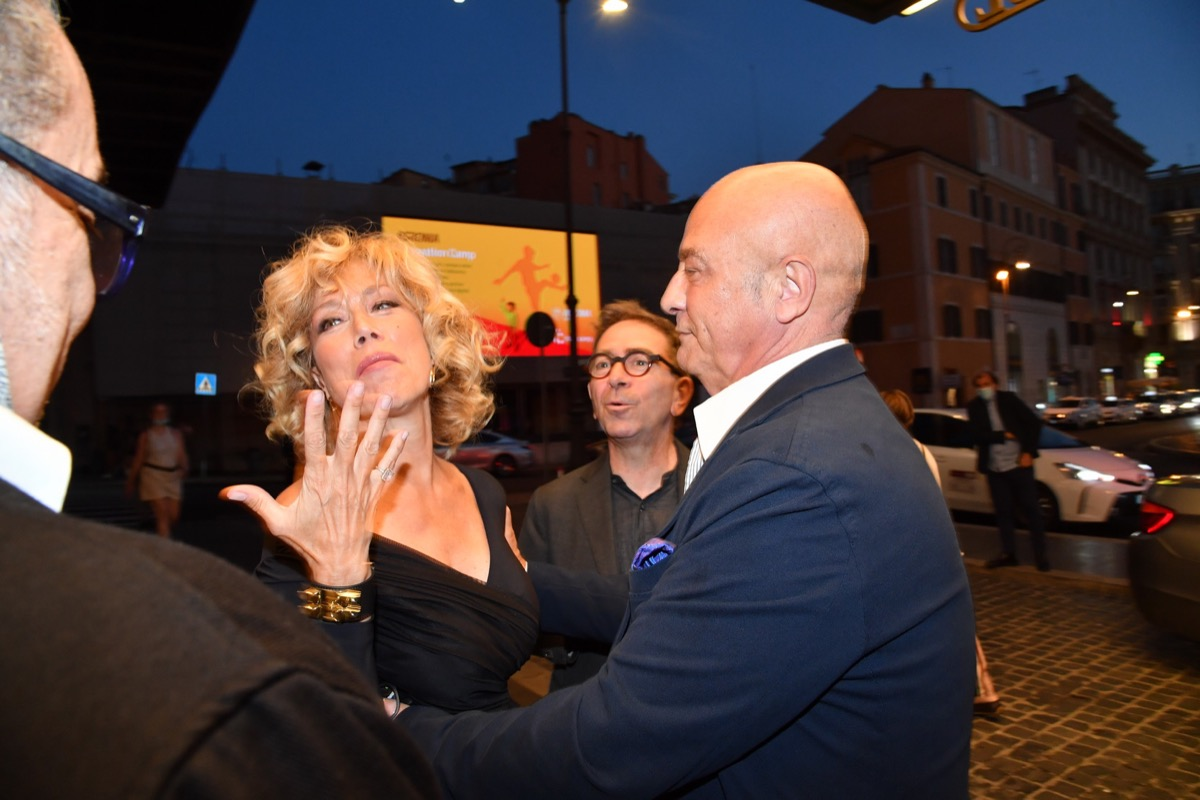 Nancy Brilli, Stefano Dominella