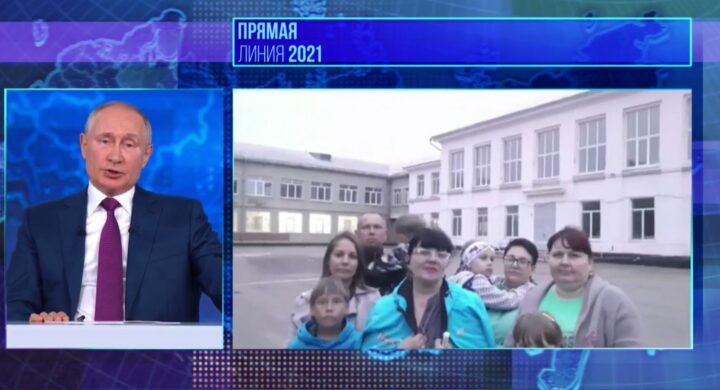 Putin live. Il discorso dello zar ai russi fra elezioni e vaccini