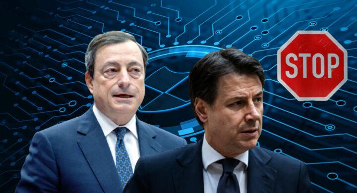 Due senza tre. Stop di Draghi al blitz grillino sugli 007