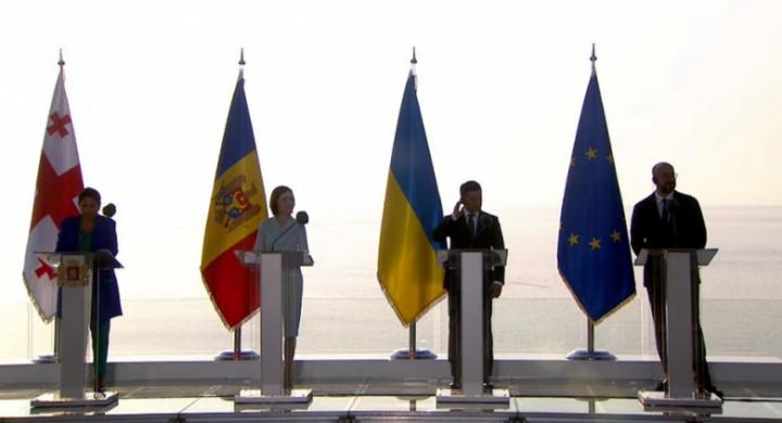 A Batumi il Trio associato promette l'Ue. E il Cremlino…