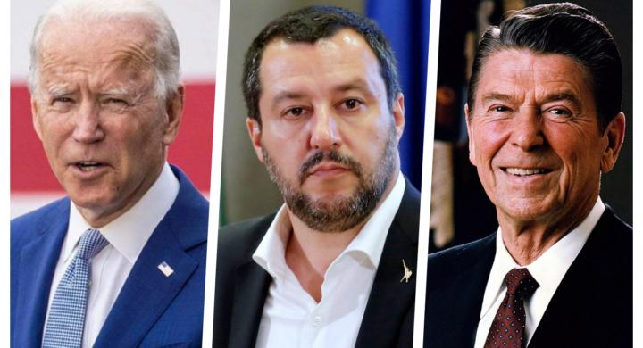 Reagan e Biden meglio di Trump. Così Salvini sotterra il sovranismo