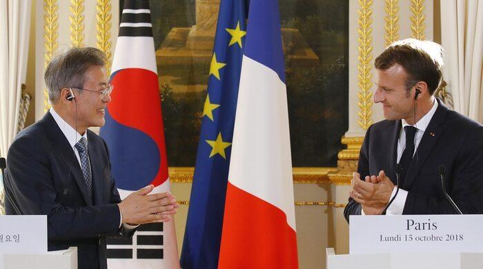Aukus, sgambetto di Macron a Biden. Ecco l'accordo con Seul