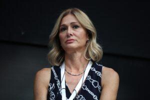 Francesca Donato lascia la Lega e Salvini la saluta. Le foto