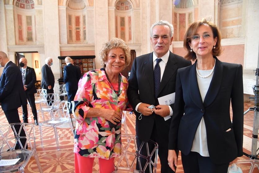 Laura Pellegrini, Antonio Romano, Marta Cartabia