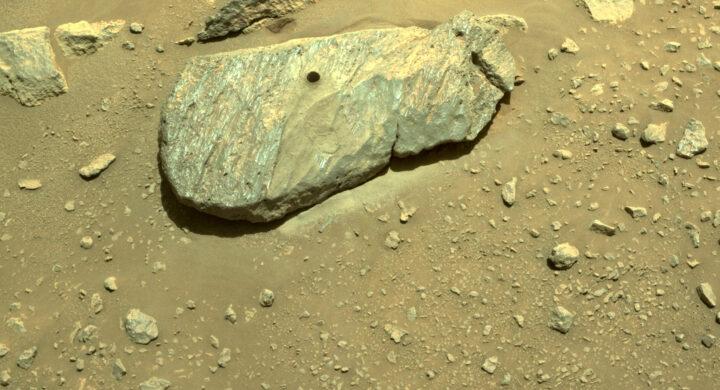 Houston, abbiamo un campione di roccia marziana. Il successo di Perseverance