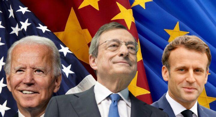 Fregata e mazziata. Italia al bivio fra Macron e Biden