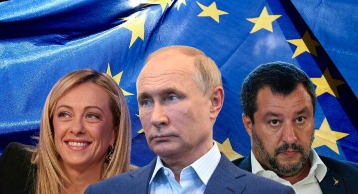 Put-out. Se Salvini e Meloni scaricano la Russia