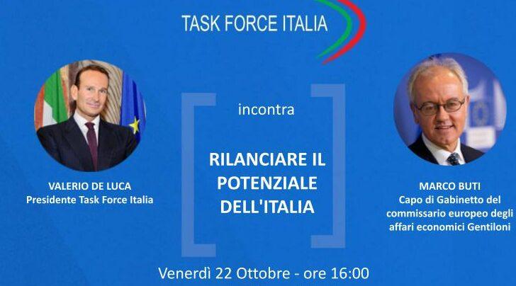 Task Force Italia, Web Talk con Marco Buti