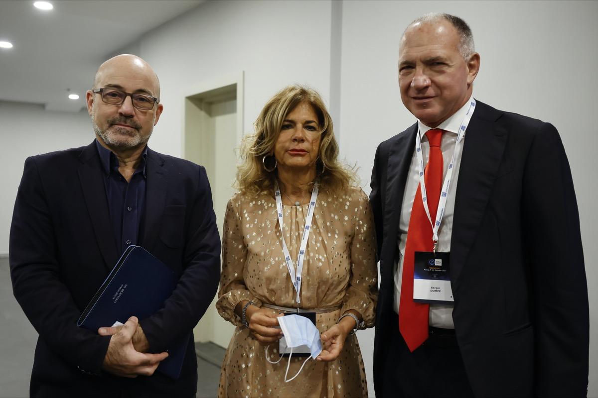 Roberto Cingolani, Emma Marcegaglia, Sergio Dompé