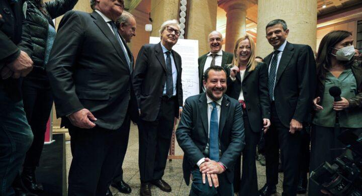 Salvini-Meloni, se il derby si gioca (anche) a Gerusalemme