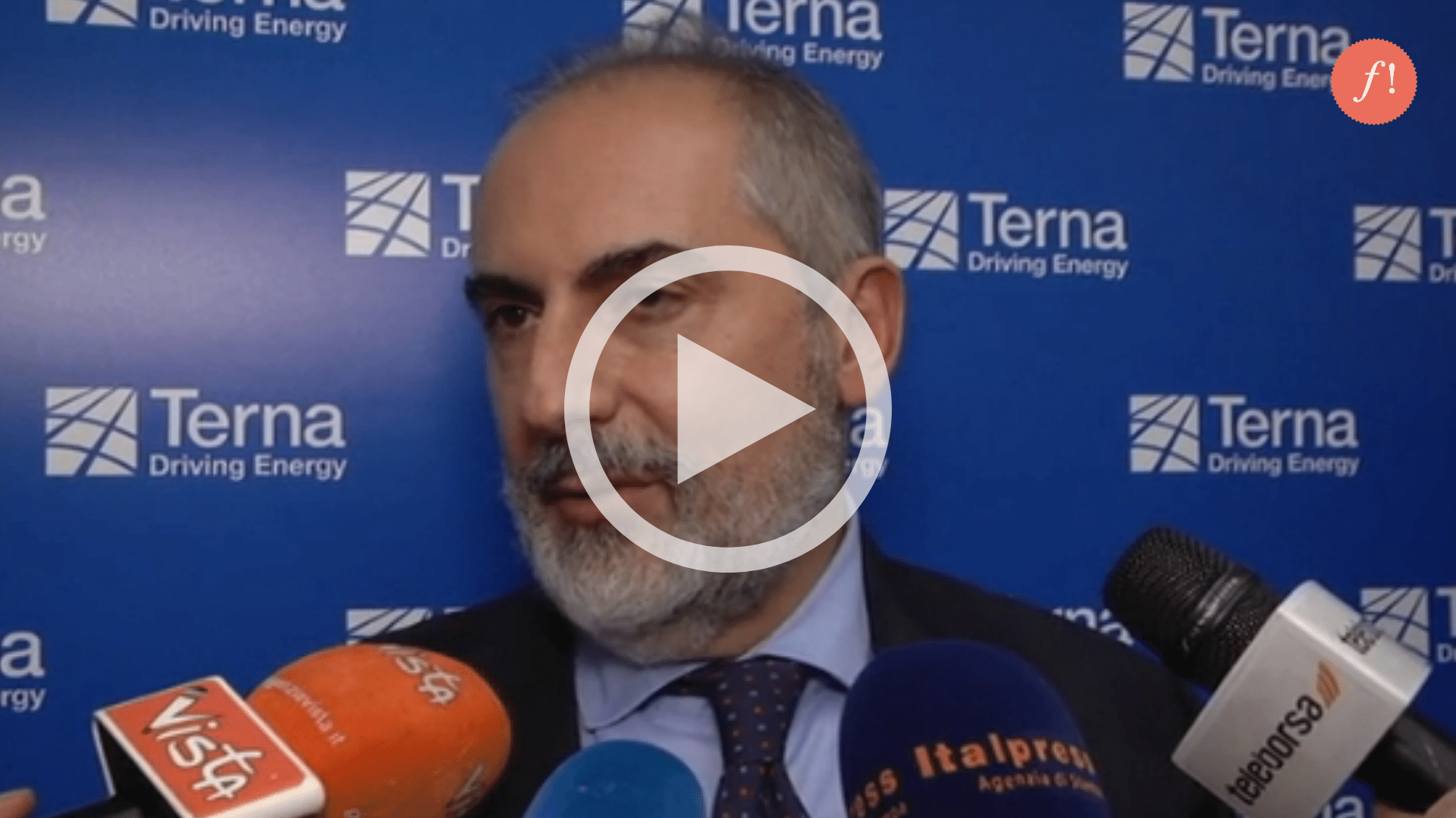 Terna, Donnarumma: le grandi aziende per transizione ecologica. Il video