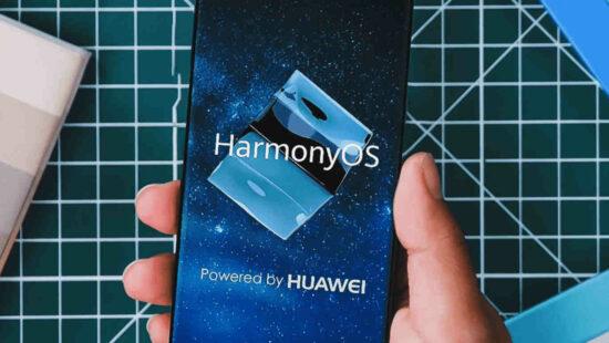 Harmony OS powered by Huawei